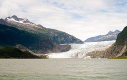 Mendenhall lodowa Rekreacyjnego terenu Tongass las państwowy Alask Obrazy Royalty Free