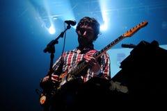 Mendetz (диапазон) выполняет на клубе Razzmatazz Стоковые Изображения RF