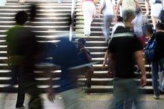 Mendiant dans le souterrain de Pékin Photos stock