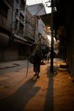 Mendiant de rue Photographie stock