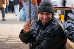 Mendiant irakien Photographie stock libre de droits