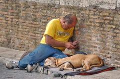 Mendiant Man Images stock