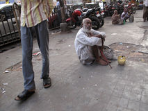 Mendiants de Calcutta Images stock