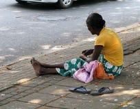 Mendicante Fotografie Stock Libere da Diritti