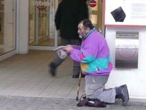 Mendicante Immagine Stock