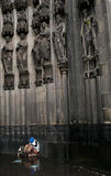 Mendicante di Colonia fotografie stock