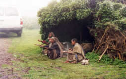 Mendicants de Ethiopians Fotografía de archivo libre de regalías