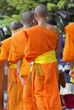 Mendicants Luang Prabang Royalty Free Stock Images