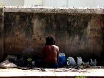 Mendigo Foto de archivo