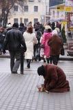Mendigo Foto de archivo libre de regalías