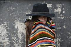 Mendigo Girl Fotografía de archivo