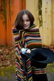 Mendigo Girl Imágenes de archivo libres de regalías