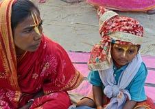 Mendigo hindu Imagens de Stock