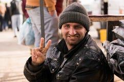 Mendigo iraquí Foto de archivo