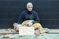 Mendigo joven Foto de archivo libre de regalías