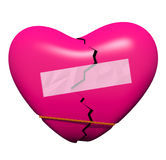 Mending a Broken Heart Stock Image