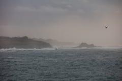 The Mendocino Coastline in Northern California Royalty Free Stock Photos