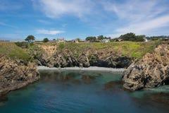 Mendocino, de kust Stock Foto's
