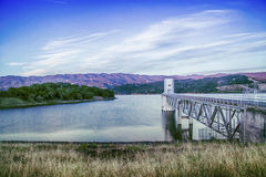 Mendocino lake. In the evening of Mendocino lake is nice Royalty Free Stock Images