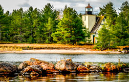 Mendota (Bet Gris) Lighhouse Royalty Free Stock Photos