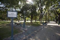 mendoza της Αργεντινής Στοκ εικόνα με δικαίωμα ελεύθερης χρήσης