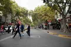 MENDOZA ARGENTINA - Februari 21, 2015 Royaltyfri Foto