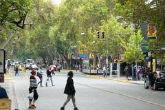 MENDOZA ARGENTINA - Februari 21, 2015 Royaltyfria Foton