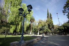 Mendoza, argentina. Historic plaza independencia in downtown mendoza, argentina Stock Photos