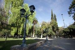 Mendoza, argentina. Historic plaza independencia in downtown mendoza, argentina Stock Photos