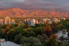 Mendoza Argentina Sunrise Royalty Free Stock Images