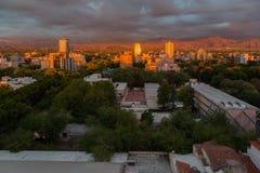 Mendoza Argentina Sunrise Stock Image