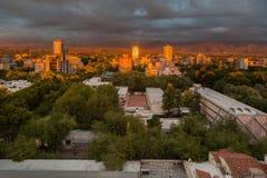 Mendoza Argentyna wschód słońca fotografia stock