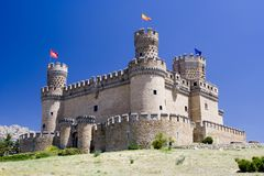 Free Mendoza Castle Royalty Free Stock Photography - 2743567