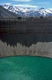 mendoza för argentina kraterlake Arkivbild