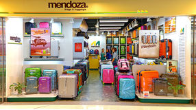 Mendoza luggage store Stock Photos