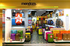 Mendoza luggage store Royalty Free Stock Photos