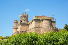 Mendoza Schloss Lizenzfreie Stockfotografie