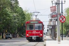 Mendoza tram Stock Photography