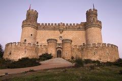 Mendozaen Castel royaltyfri foto