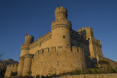 Mendozaen Castel Royaltyfria Foton