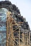 Mendut tempelförbättring Arkivbild