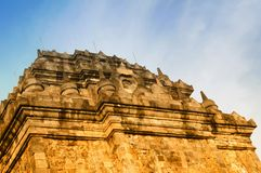 Mendut Temple, Magelang Royalty Free Stock Images