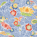 Mendy flowers pattern Stock Image