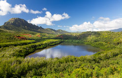Menehune fishpond Kauai Hawaii Stock Images