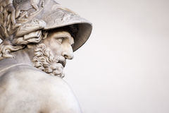Menelaus supporting the body of Patroclus Stock Photo