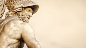 Menelaus supporting the body of Patroclus Stock Photography