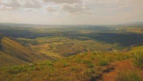Menengai crater, Nakuru. Panoramic view of Menengai Crater, Nakuru County, Kenya Royalty Free Stock Photos
