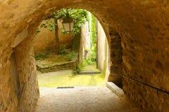 Menerbes-Dorf in Provence Lizenzfreies Stockfoto