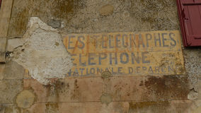 Menerbes en Provence Photos libres de droits