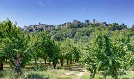 Menerbes - Luberon -普罗旺斯法国 免版税库存照片